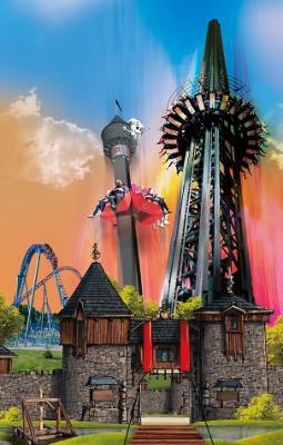 Nigloland : le donjon de l'extrême et la tour des petits fantomes