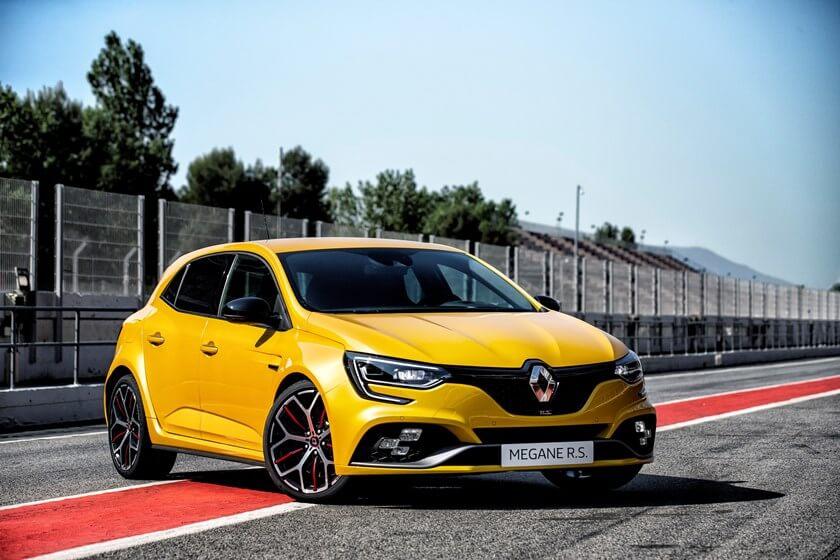 Nouvelle Renault Mégane RS Trophy