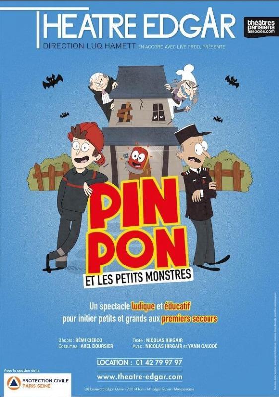 Pin Pon affiche