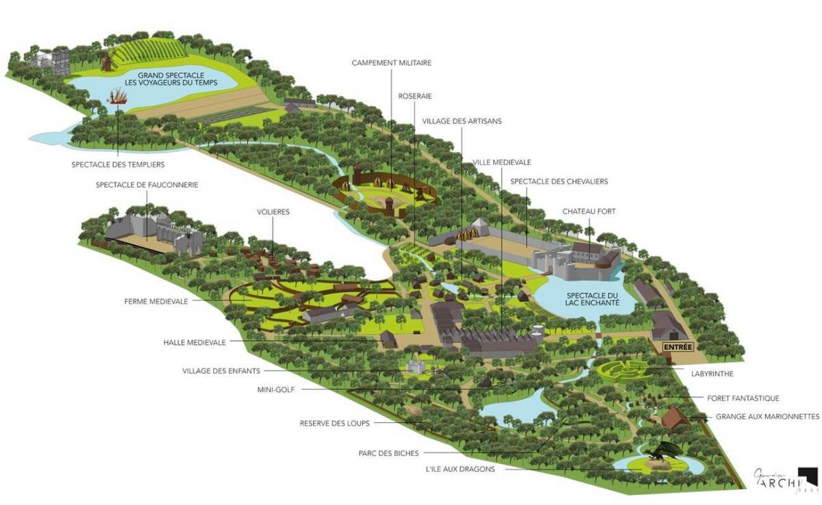 Plan Bois du Roy