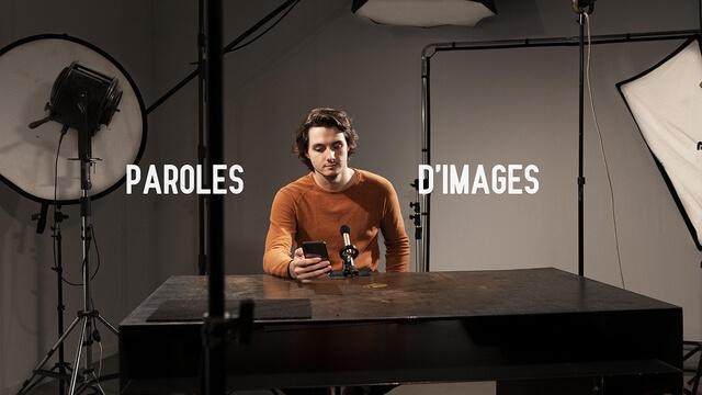 Podcast Paroles d'images Raphaël Bourda