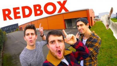 Redbox des youtubeurs à Angers
