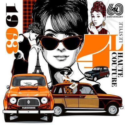 Renault 60 ans 4L (crédit visuel : Greg / Renault)