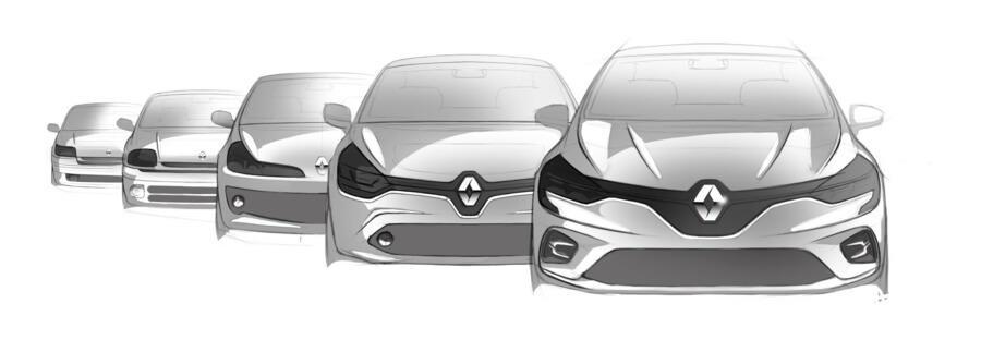 Renault Clio 30 ans