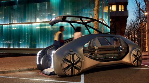 Renault EZ-GO : voiture autonome à la demande