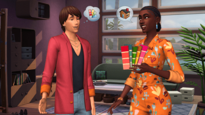Sims 4 - décoration intérieure