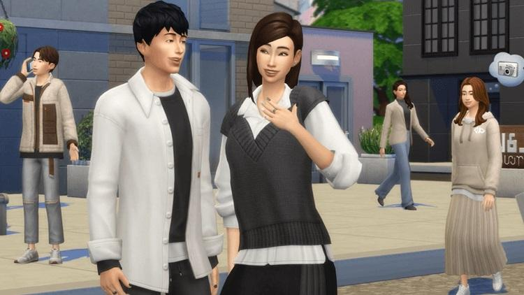Sims 4 Incheon style