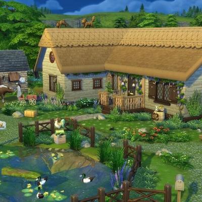 Sims vie à la campagne