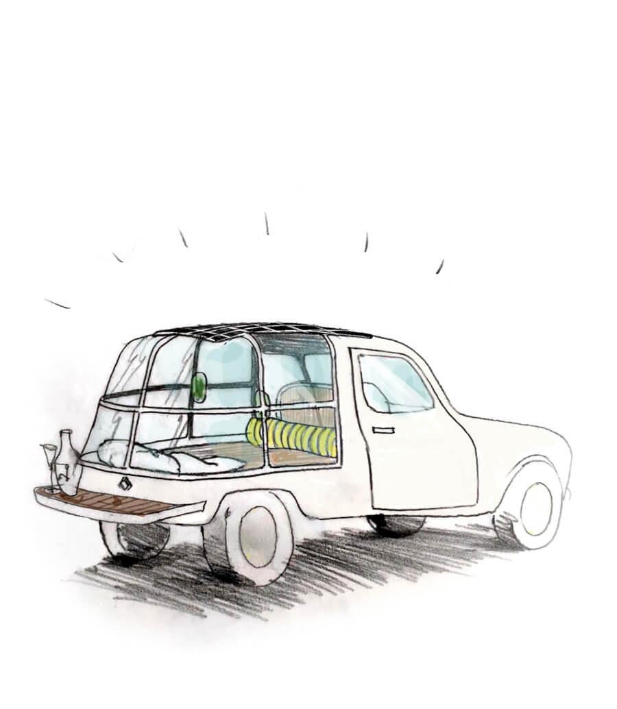 Suite n°4 - Renault 4L