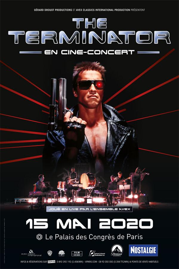 Terminator ciné concert Palais des Congrès