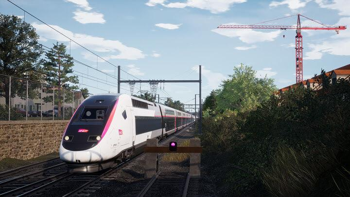 TGV duplex Train Sim World 2