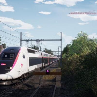 TGV duplex Train Sim World 2
