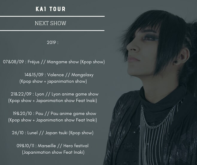 Tournee Kai 2019