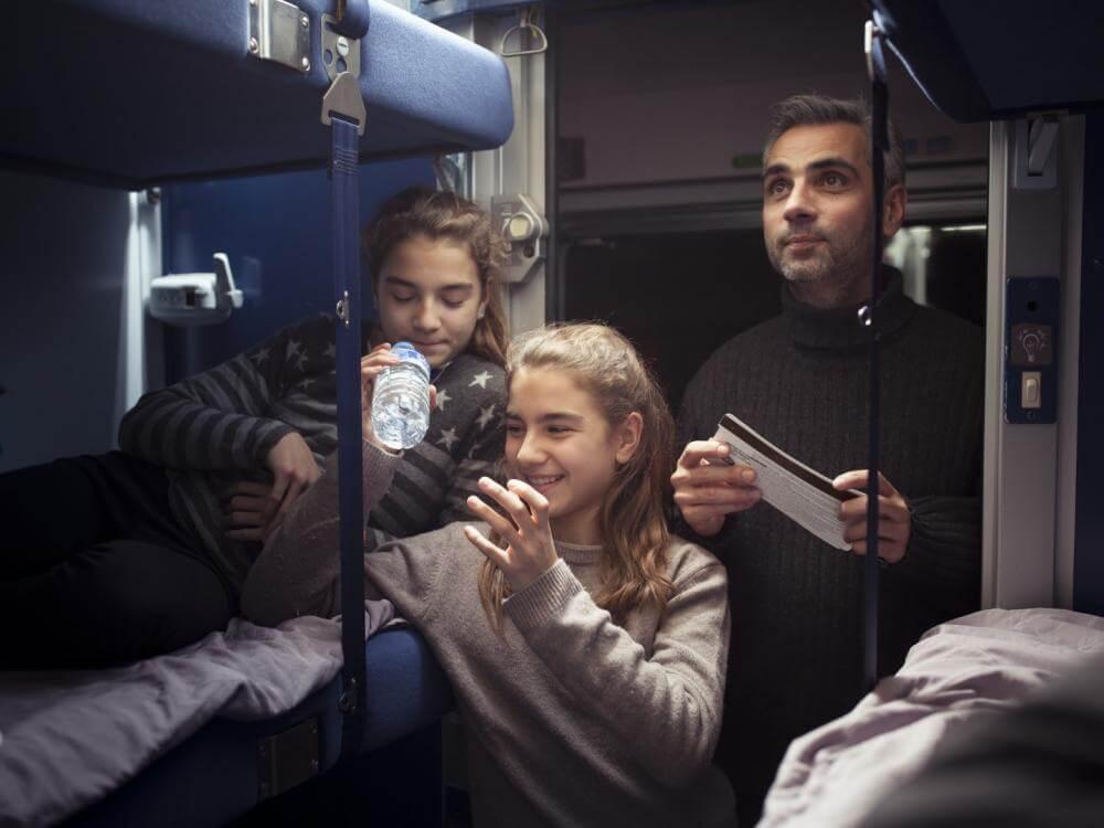 Train de nuit SNCF (crédit Matthieu Raffard)
