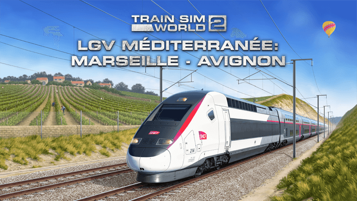 Train Sim World 2 - TGV