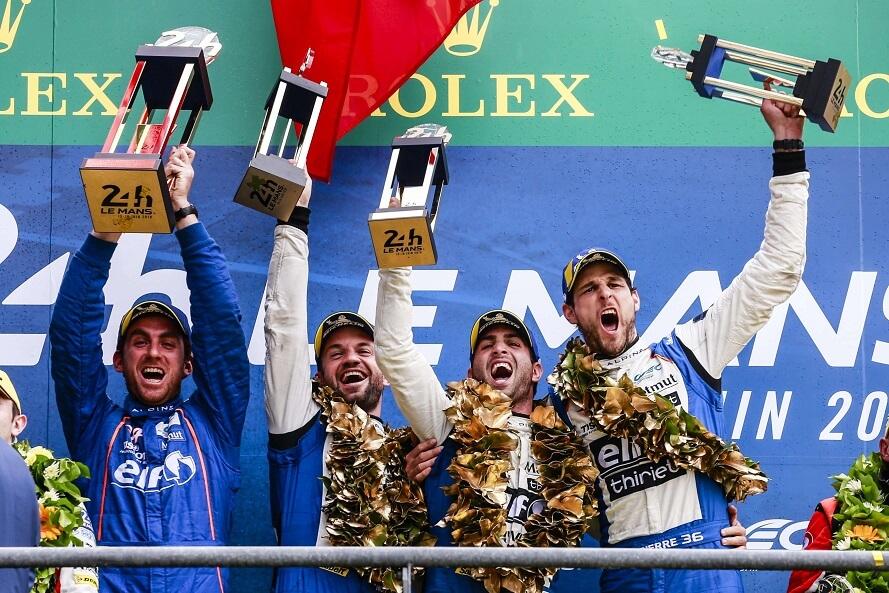 Victoire Alpine 24h du Mans 2019