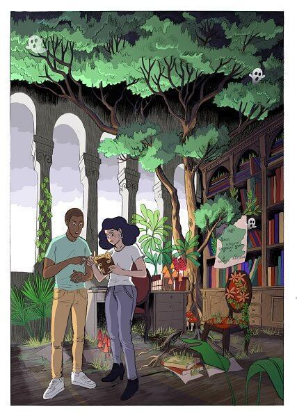 BD Voyage d'Akeane - Abbaye Oubliée