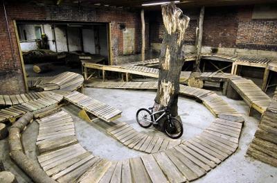 Weride bike park indoor à Lyon