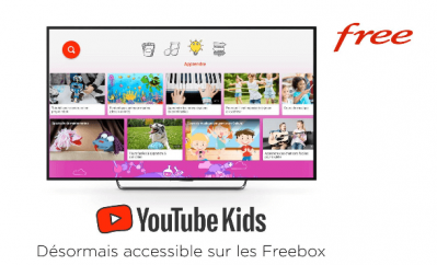 Youtube kids - Freebox