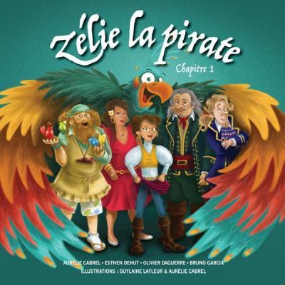 Zélie la pirate - livre audio Aurélie Cabrel